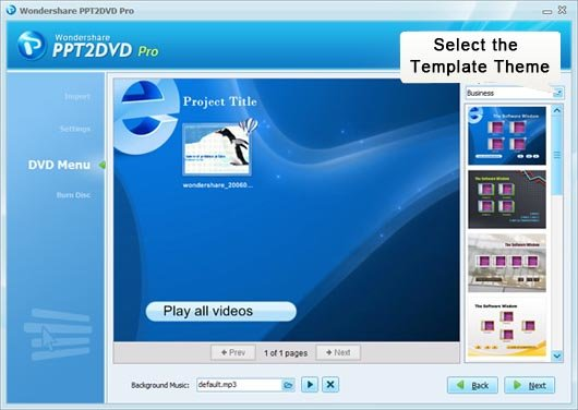 how to put a ppt onto a dvd with ppt to dvd converter